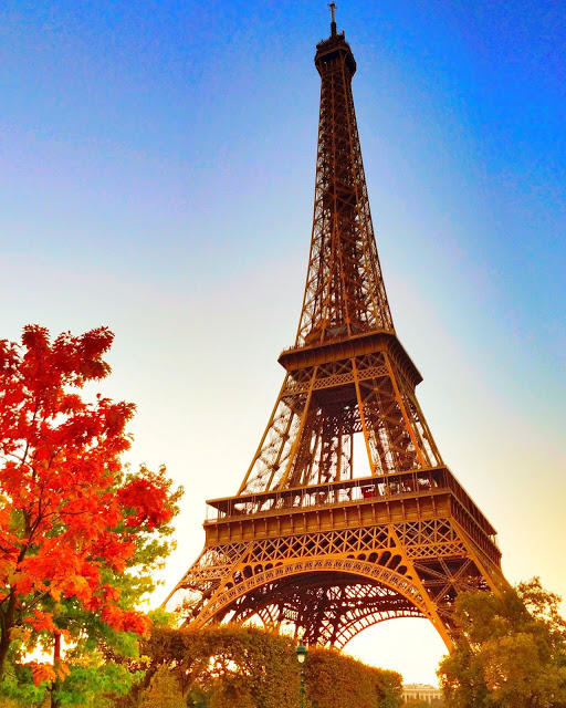 Eiffel Tower - learn the secret to walking right up and skipping the line!