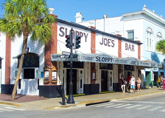 Sloppy Joe's Bar - Duvall Street Key West, FL