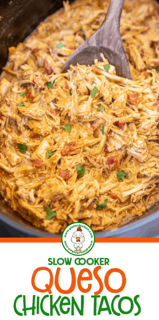 chicken taco meat in slow cooker