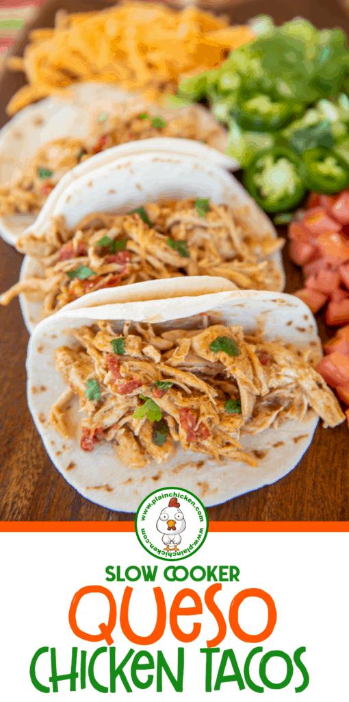 soft chicken tacos on a platter