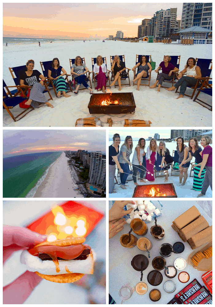 Beach Bonfire at Sandestin Golf & Beach Resort in Florida