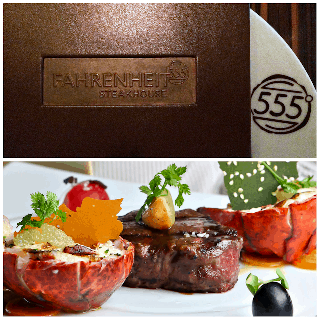 Fahrenheit 555 Steakhouse aboard the Carnival Sunshine