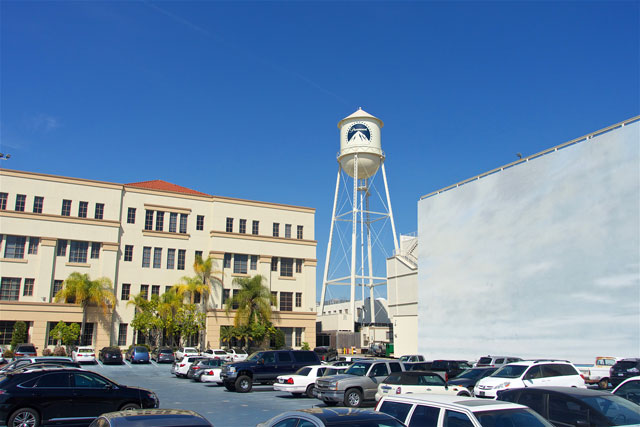 Water tower on the Paramount Studio Tour - Hollywood, CA