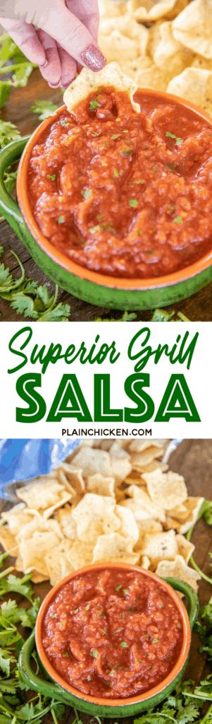 Superior Grill Salsa