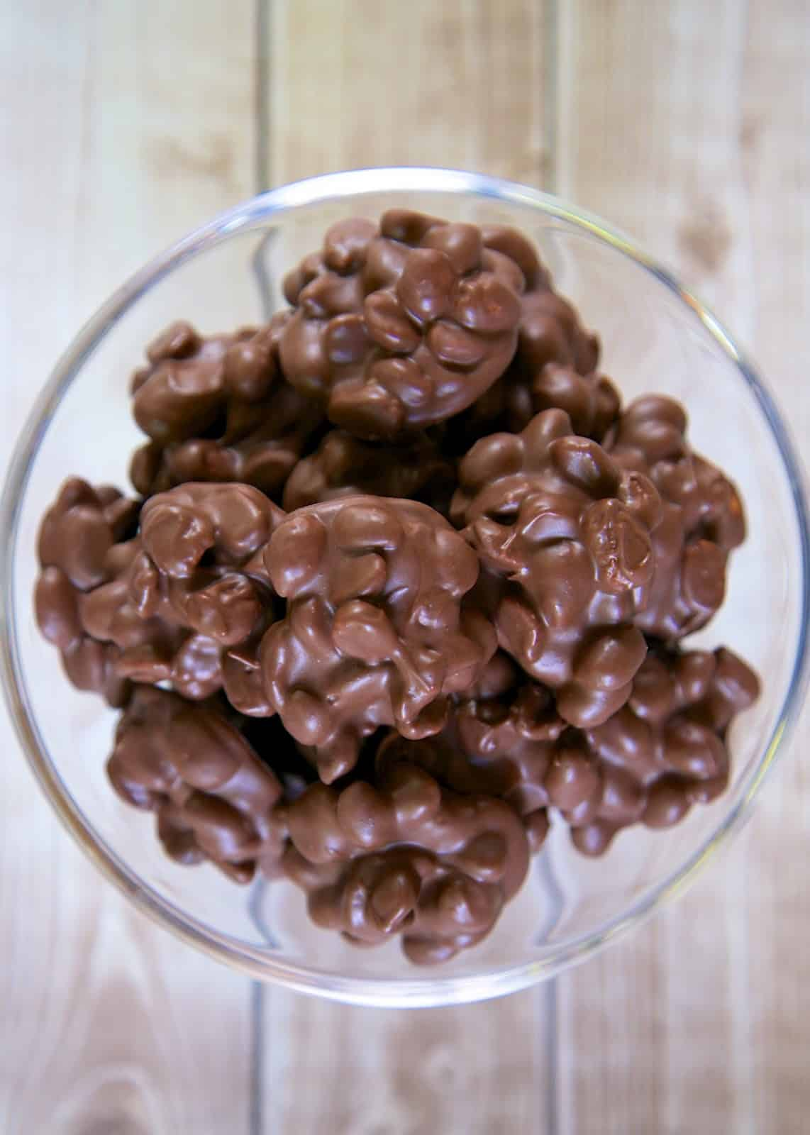 Honey Roasted Chocolate Peanuts - sweet & salty in every bite! Only 2 ingredients!!