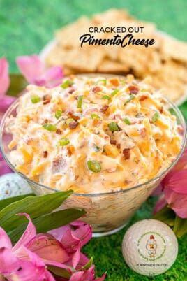 bowl of pimento cheese