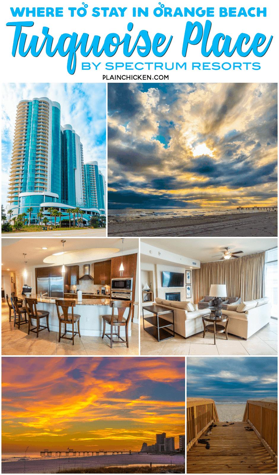 collage of photos of beach condo