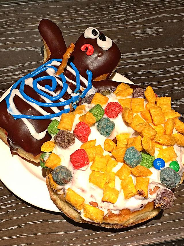 Voodoo Doughnuts in Portland, OR - love the fun doughnut toppings!