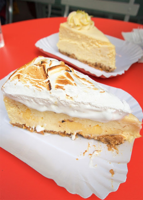 Lemon Meringue Cheesecake from Berko in Paris - THE BEST! You MUST find this on your next trip!