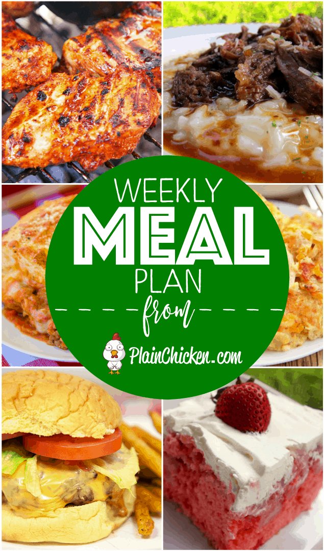 Quick and easy recipes for everyday of the week. Main dishes, side dishes and dessert recipes. Everything is easy to make and guaranteed to please the whole family!