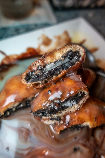 Fried Oreos - Harry's Bar and Grill - St. Augustine, FL