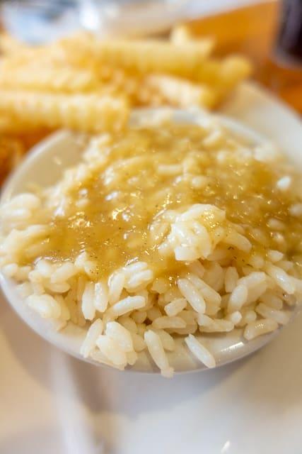 Rice & Gravy - O'Steen's Restaurant - St Augustine FL