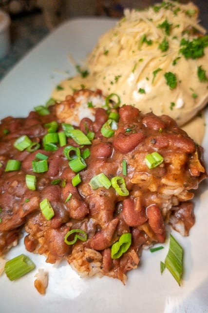 Red Beans & Rice - Harry's Bar and Grill - St. Augustine, FL