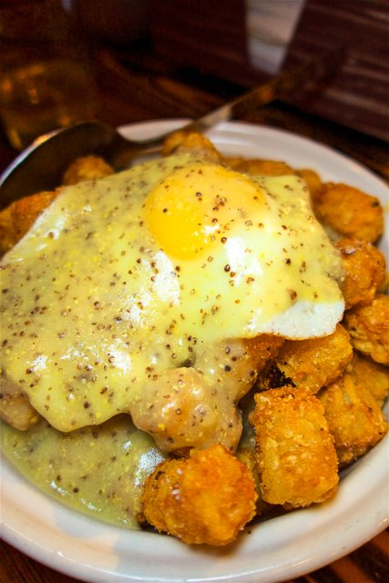 Tater Tots from Radiator Whiskey in Pike Place Market - Seattle, WA