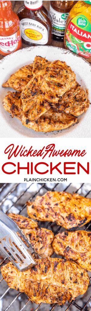 wicked awesome chicken