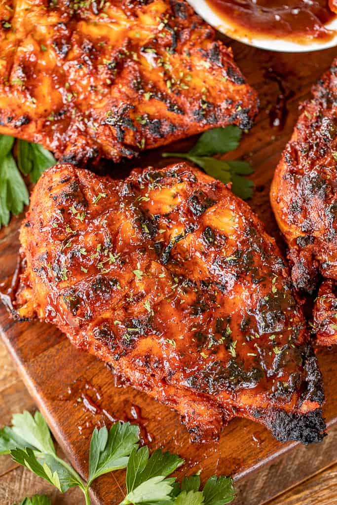 kansas city bbq grilled chicken