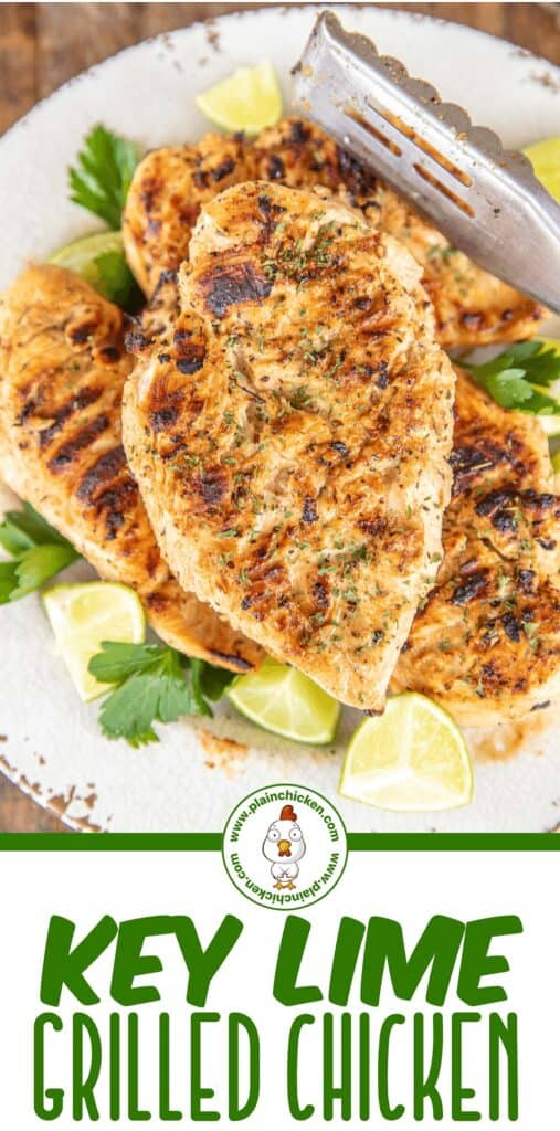 key lime grilled chicken