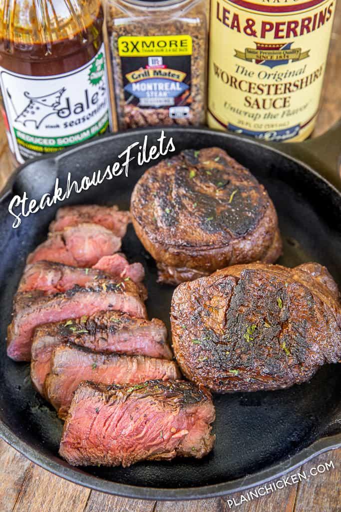 steakhouse filets