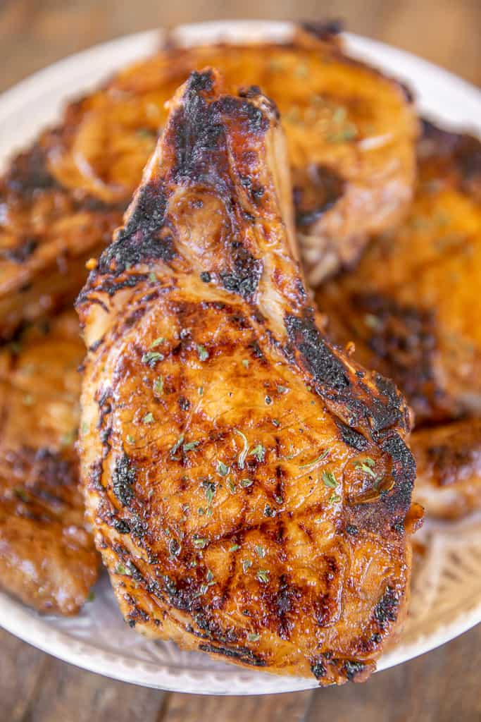 sweet heat pork chops