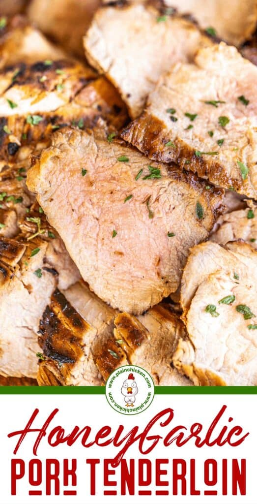 sliced grilled pork tenderloin