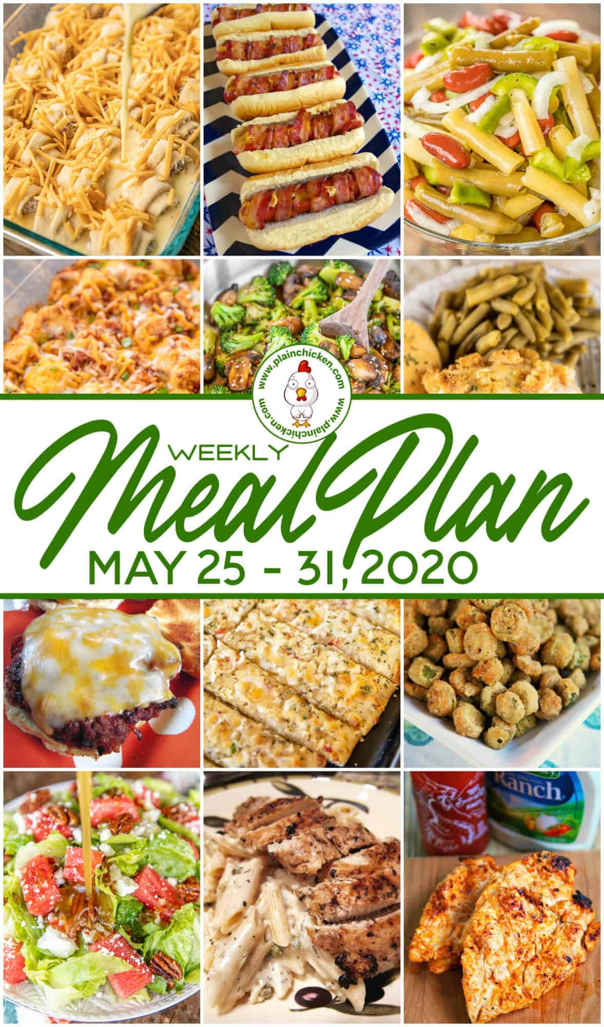 what u0026 39 s for dinner   weekly meal plan