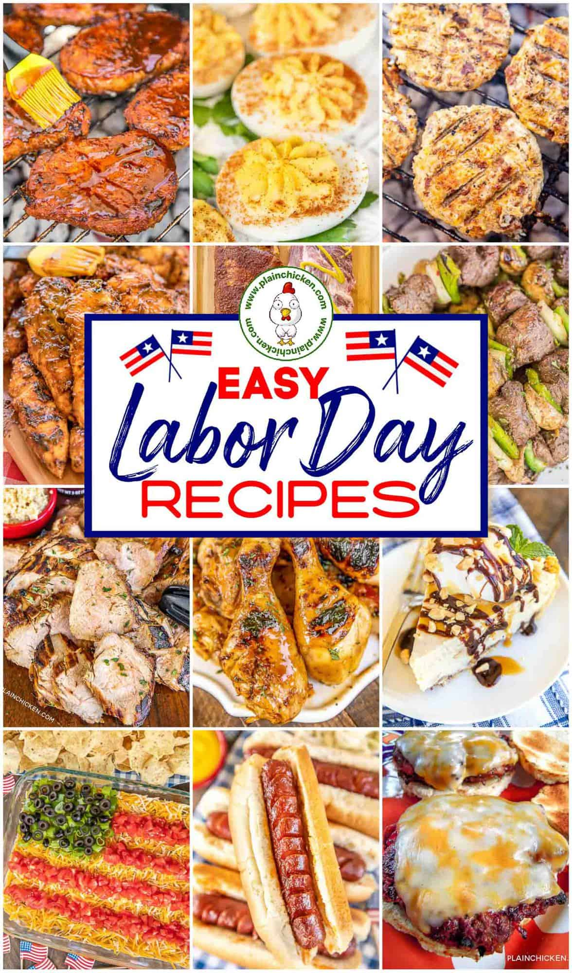 Labor Day Party Recipes - Plain Chicken
