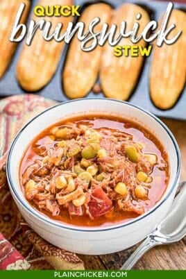 bowl of brunswick stew