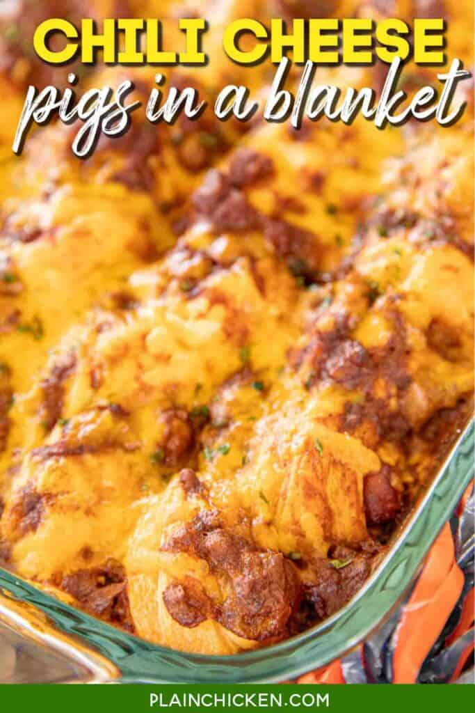 Chili Cheese Pigs In A Blanket Plain Chicken