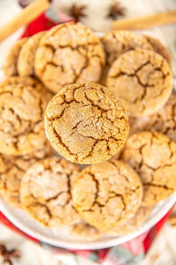 Soft Gingersnap Cookies Made With Canola Oil Plain Chicken