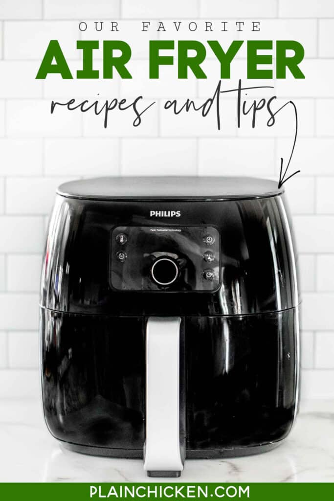 air fryer on the kitchen counter
