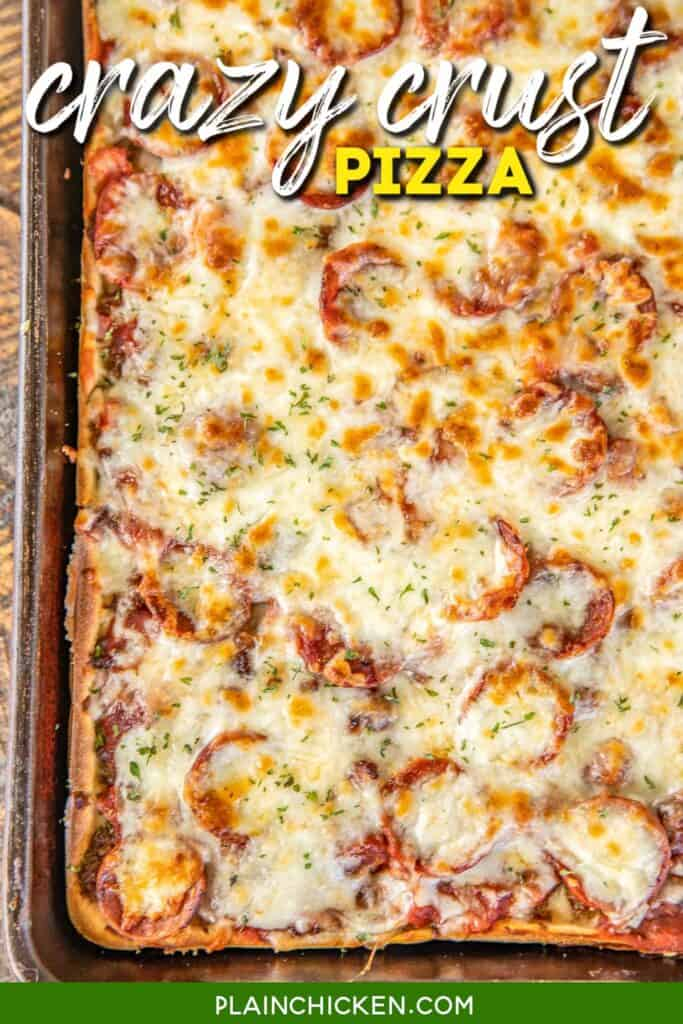 pizza in a baking dish