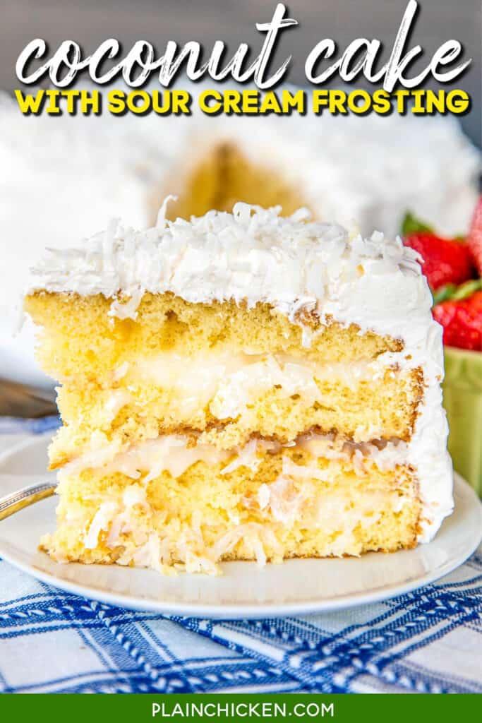 plate of dessert