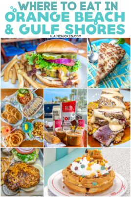 collage of food photos with text overlay