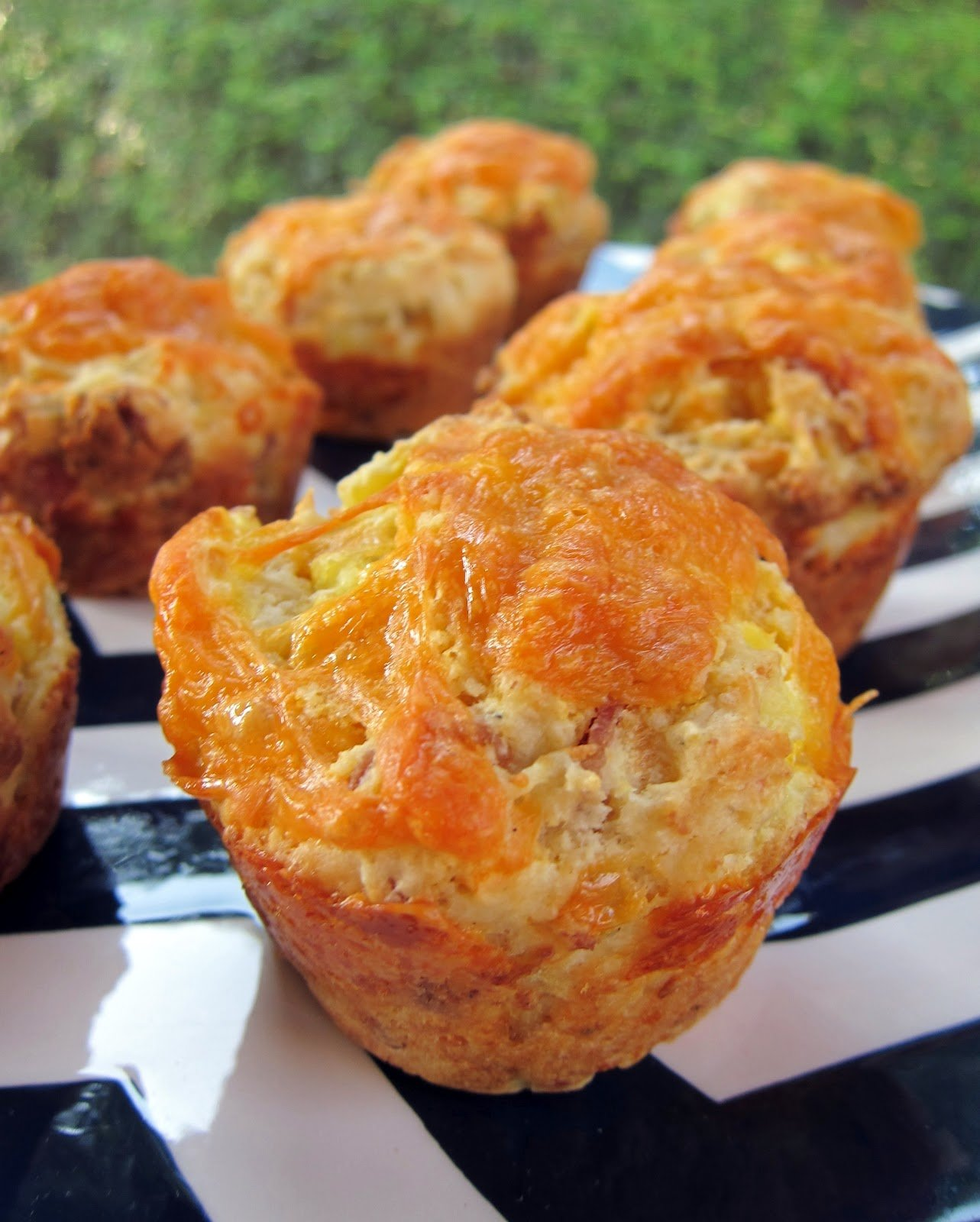 Bacon Egg And Cheese Breakfast Muffins Plain Chicken