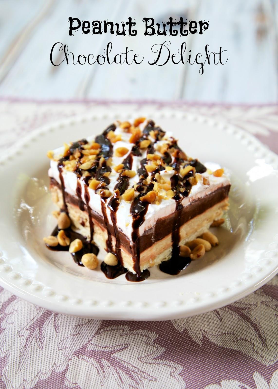Peanut Butter Chocolate Delight Plain Chicken